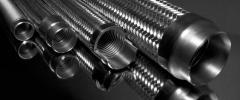 Elastyczne przewody metalowe uszczelnione stali