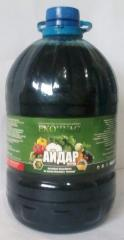 Fertilizers liquid. Humic fertilizer. Aydar-5l. TU