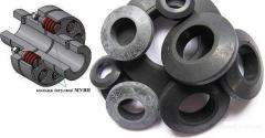 Connecting parts, couplings rubber flexible,