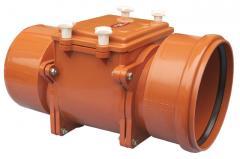 Механический магистральный канализационный затвор из ABS, DN200мм, HL720