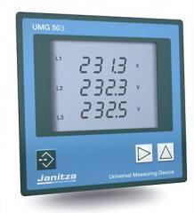 Измерители параметров электросети  Janitza UMG 503