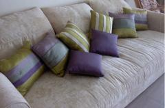 Подушки для дивана и кресла. Перо-пуховые подушки.