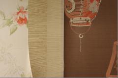 Обои для стен в светлых тонах, обои в японском