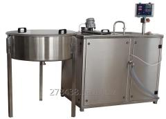 Pass cheese dairies from 100 to 1000 liters