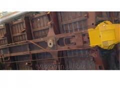Стенд демонтажа и установки боковых стен кузова полувагона