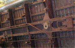 Стенд монтажа и правки стены боковой полувагона