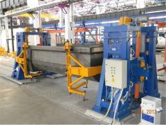 Кантователи с подъемными центрами для установки, подъема и поворота свариваемого изделия
