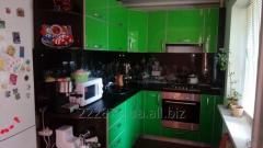 Angular kitchen to order in Zaporizhia