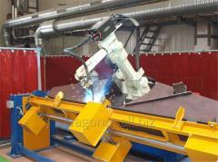 Роботизированные сварочные комплексы на базе роботов