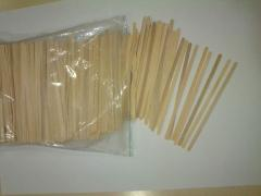 Палички дерев'яні для помешивания