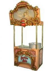 The carriage for popcorn and Banco Classic cotton