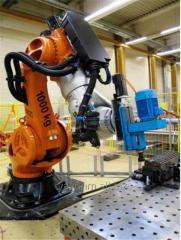 Роботизированные комплексы на базе шпиндельных узлов Suhner