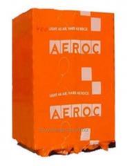 Aeroc gas concrete
