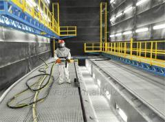 Дробеструйные камеры для очистки дробью сварных металлоконструкций