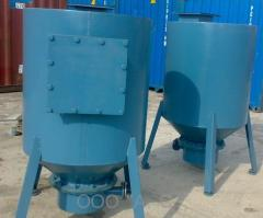 The pump pneumatic chamber for transportation of