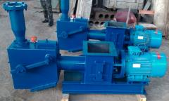 The elevator pneumatic screw for transportation of