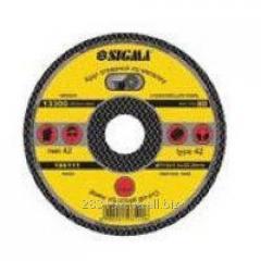 Круг відрізний SIGMA 125х1,6х22,2 7657