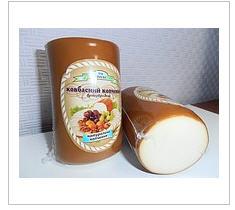 Продукт сырный плавленный натурального копчения