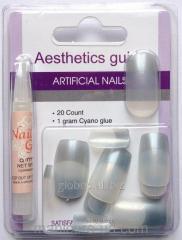Накладные искусственные ногти GLOBOS N-6719