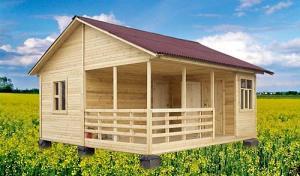 Будиночки дерев'яні пересувні времянки
