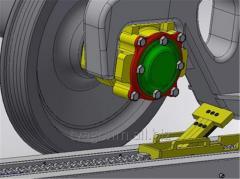 Устройство для позиционирования и перемещения вагонов