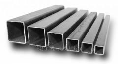 Profile pipes square