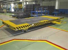 Тележки моторные для внутрицехового перемещения грузов по прямолинейным горизонтальным участкам рельсового пути