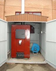Modular kotelnya on the basis of a pyrolysis...