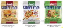 Trocitos de pan de trigo-centeno TM Flint alimento