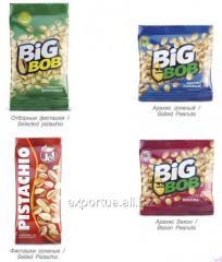 Pistachios TM BIG BOB, salted 50g