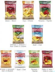 Chips TM Flint_CHIPSTER'S, ondulé, crabe 70 g
