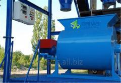 Equipment for manufacturing of foam concrete