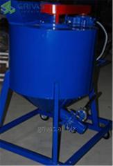 Миксер для производства газобетона с рабочим