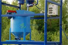 Equipment for the production of gas concrete