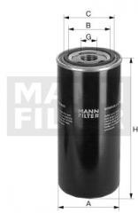 Filter oil W 962/2 WD 962 W 962/28 SH 8110; SH8107