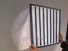 Filters in form of sleeve and pocket