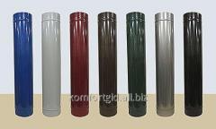 Труба из нержавеющей стали в кожухе из полимера