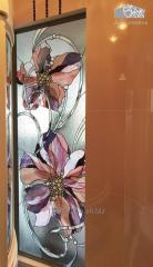 Stained-glass window of