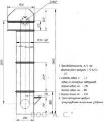 Ladle conveyor (noriya, elevator)