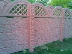 Еврозаборы для дома бетонные в Симферополе Крым
