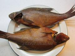 Bream cold and smoke-cured