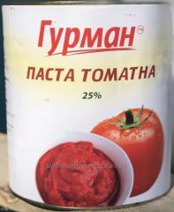 Томатная паста, соус, томаты