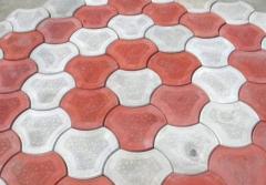 Тротуарная плитка фигурная из бетона в Симферополе