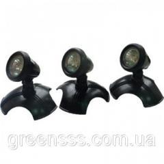 NPL1-LED3 Подсветка для пруда 12V  3 x 1, 6W
