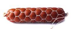 Сетка для колбас формообразующая сота 50x6, цвет нитей белый