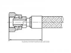 Внутриняя метрическая резьба, уплотнение конус 24/60° Tип AF2M