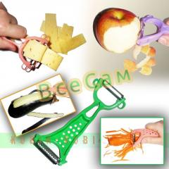 Bilateral knife the housekeeper for cleaning of