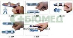 The tires fixing (finger) of P-121, P-127, P-128,
