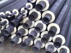 Труба стальная  133 /225 в ПЕ ( пластиковой )