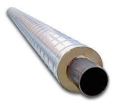 Труба теплоизолированная 820/1000 в СПИРО (